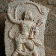Stock Photo: Statue of Anjaneya