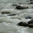 Rocks in the River — Stock Photo