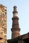 Qutb Minar Victory Tower — Stock Photo