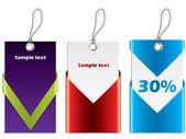 Cool ontwerp winkelen etiketten — Stockvector