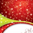 Royalty-Free Stock Vector Image: Abstract valentine day card