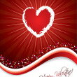 Royalty-Free Stock Vector Image: Bursting heart design