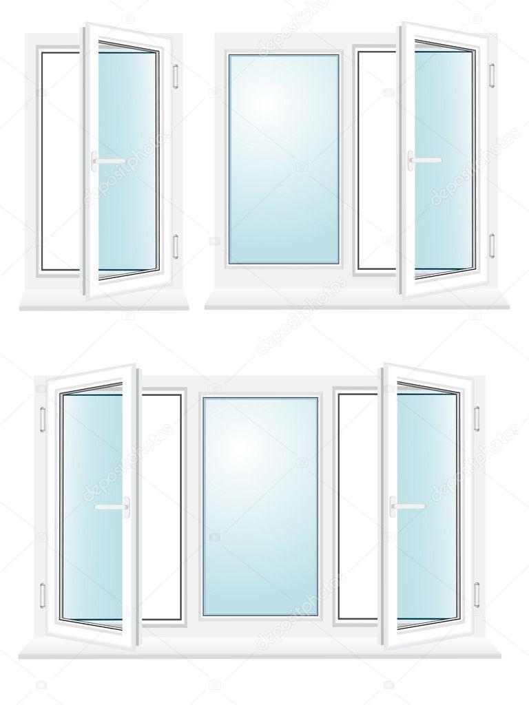 Illustration vectorielle de verre en plastique ouverte for Window glass design 5 serial number