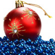 Decorations for new year and christmas — Stock Photo