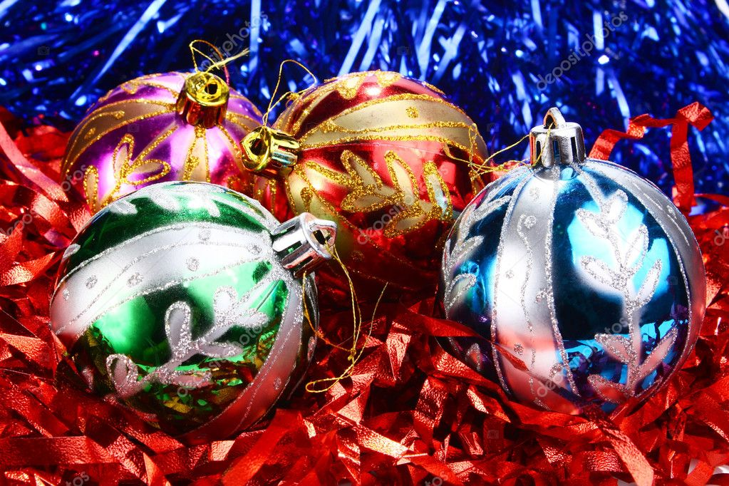 Decorations for new year and christmas  Stock Photo #4113010