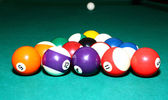 Balls for billiards — Stock Photo