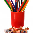 Crayons coloured pencils — Stock Photo #5142933