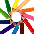 Crayons coloured pencils — Stock Photo #5142961