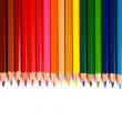 Stock Photo: Crayons coloured pencils