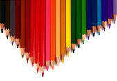 Crayons coloured pencils — Stock Photo