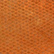 Rusty diamondplate background texture - Stock Photo