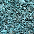 Recycled shredded tire rubber background - Stock Photo