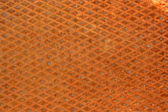 Rusty diamondplate background texture — Stock Photo