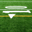 Astro turf football field — Lizenzfreies Foto