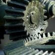 Black Gears - Stock Photo