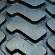 Truck tire tread background — Stock Photo #5359323