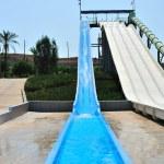 Waterpark slides — Stock Photo