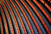 Kraampjes in het opera house — Stockfoto