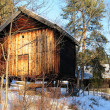 Old Norwegian storehouse - Foto Stock