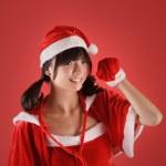 Sweet Christmas girl — Stock Photo #4036100