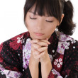 Praying — Stock Photo