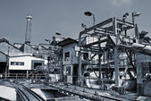 Discard industrial factory — Stock Photo