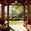 Wooden pavilion — Stockfoto #4460671