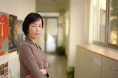 Mogna asiatisk kvinna — Stockfoto
