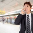 Smiling business man — Stock Photo