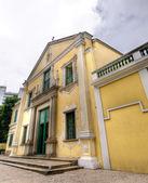 Macau landmark - St. Augustine's Church — Stock Photo