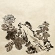 Royalty-Free Stock Photo: Chinese traditional painting