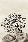 Chinese traditional painting — Stock Photo
