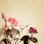 Chinese flower — Stock Photo