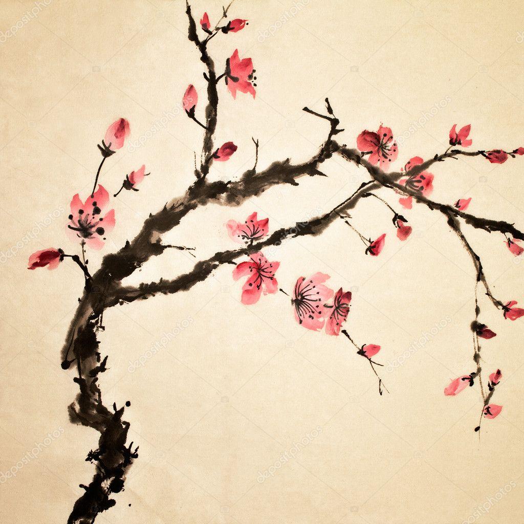 Chinese flower — Stock © elwynn