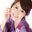 Smiling Japaneses woman — Stock Photo