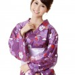Happy smiling Japanese beauty — Stock Photo #5199413
