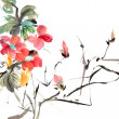 Chinese traditional painting — Stock Photo #5208910