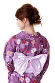 Japanese elegant woman — Stock Photo
