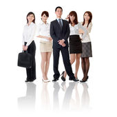 Asian business team — Stock Photo