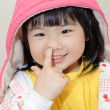 Adorable Asian girl - Stok fotoraf