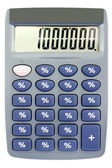 Сalculator with percent on buttons — Stock Photo