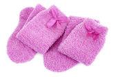 Pink socks — Stock Photo