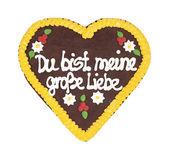 Oktoberfest heart — Stock Photo