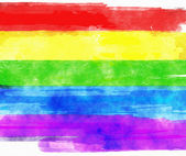 цвета радуги — Стоковое фото