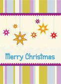 クリスマスのベクトルの背景 — ストック写真