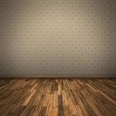 Dřevěná podlaha — Stock fotografie