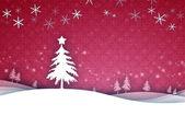 červená vánoční — Stock fotografie