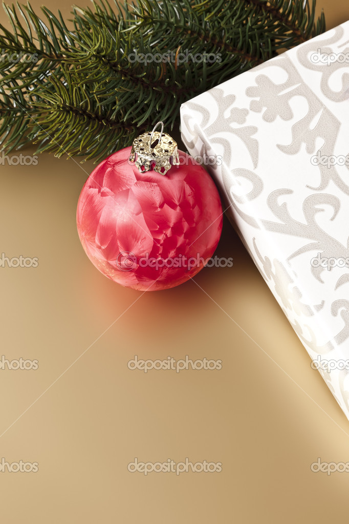 An image of a nice christmas background — Stock Photo #4292737