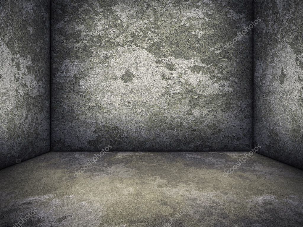An image of a nice concrete room background  Stock Photo #4438057