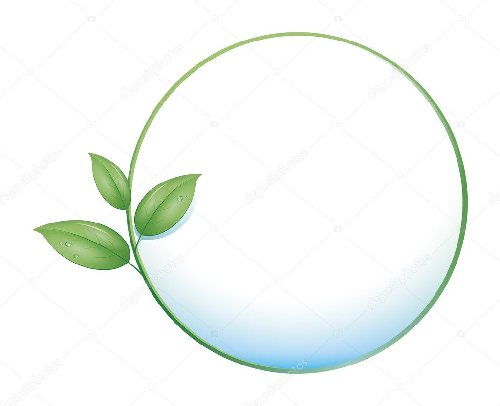 An image of a green nature concept icon  Stock Photo #4620174